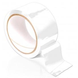 Белая самоклеющаяся лента для связывания Pleasure Tape - 10,6 м.